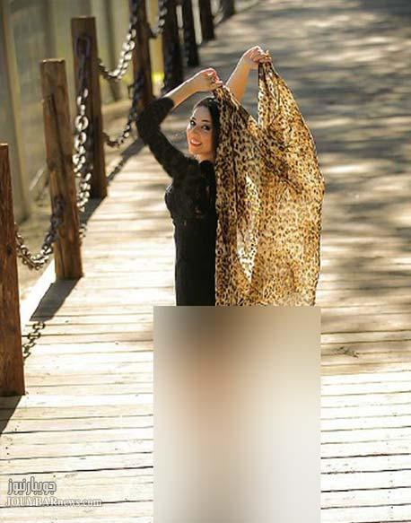 91d6463d02d44e851 کشف حجاب بازیگر زن سریال کلاه پهلوی / عکس