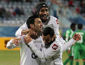 92 11 t852 گلزنی نکونام در پلی آف لیگ قهرمانان آسیا