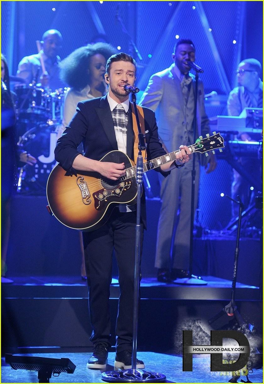 جاستین تیمبرلیک در برنامه The Tonight Show Starring Jimmy Fallon, جدید 1400 -گهر