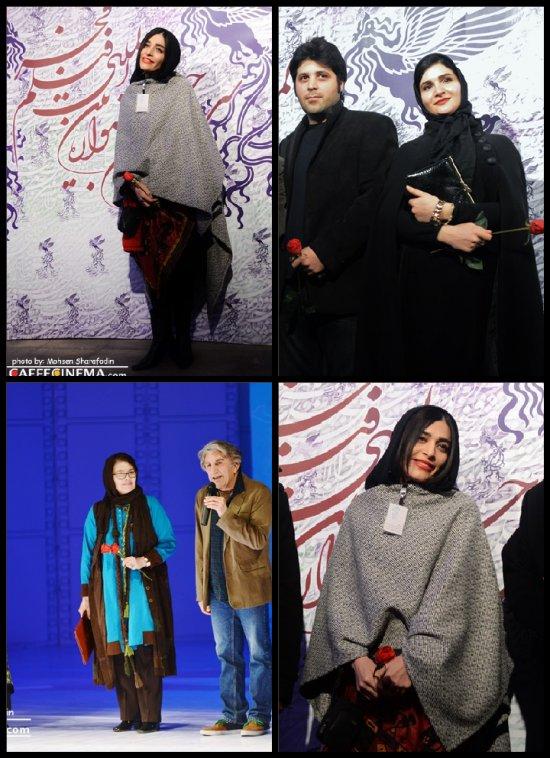 پوشش ستارگان در مراسم افتتاحیه سی و دومین جشنواره فیلم فجر, جدید 1400 -گهر