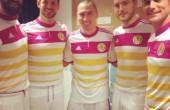 لباس دخترانه تیم ملی فوتبال اسکاتلند