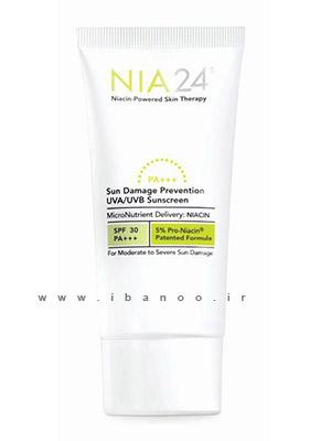 NIA SunDamageSPF 5 بهترین کرم های جوان کننده پوست در 2013