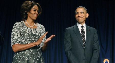 چشمک مرموز اوباما در کنار همسرش / عکس, جدید 1400 -گهر