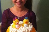 مشهور و پولدار شدن دختر ۱۱ ساله با کیک تولد / عکس