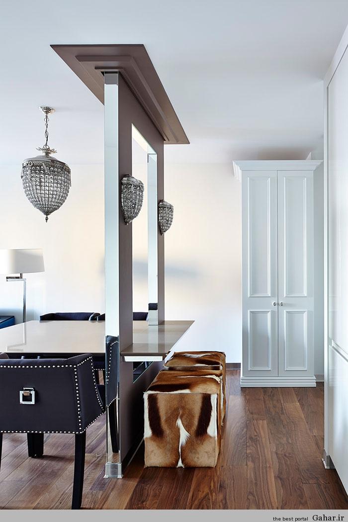 طراحی داخلی یک آپارتمان مدرن در مسکو, جدید 1400 -گهر