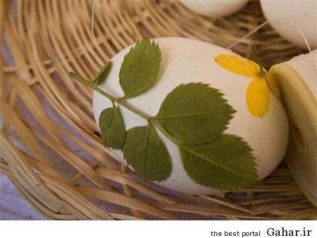 تزیین تخم مرغ هفت سین با جوراب + آموزش تصویری, جدید 1400 -گهر