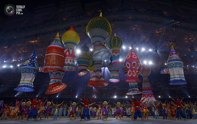 عکس های دیدنی از مراسم افتتاحیه المپیک زمستانی روسیه, جدید 1400 -گهر
