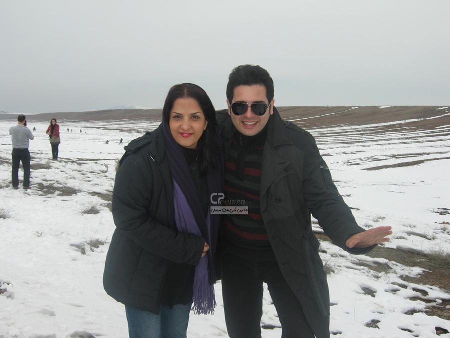 www Campec Ir Bazigaran 2096 عکس های بازیگران با همسرانشان (بهمن 92)