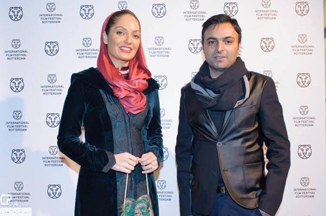 عکس های مهناز افشار در جشنوارهی فیلم روتردام هلند, جدید 1400 -گهر