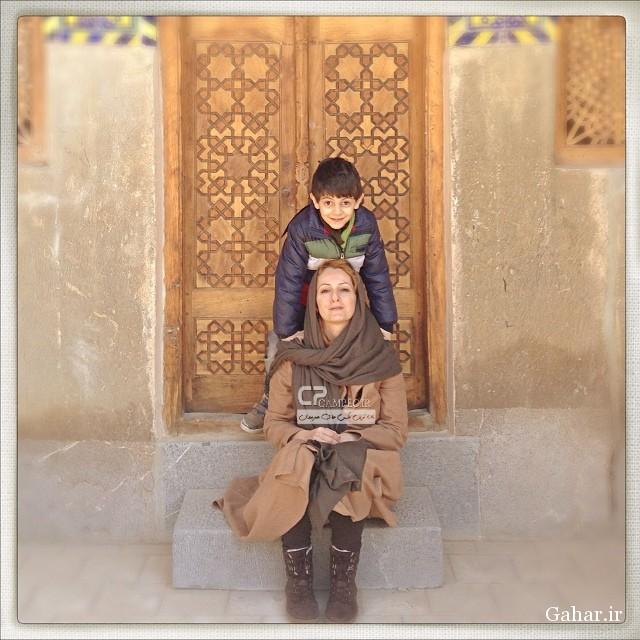 عکس های جدید شقایق دهقان و پسرش, جدید 1400 -گهر