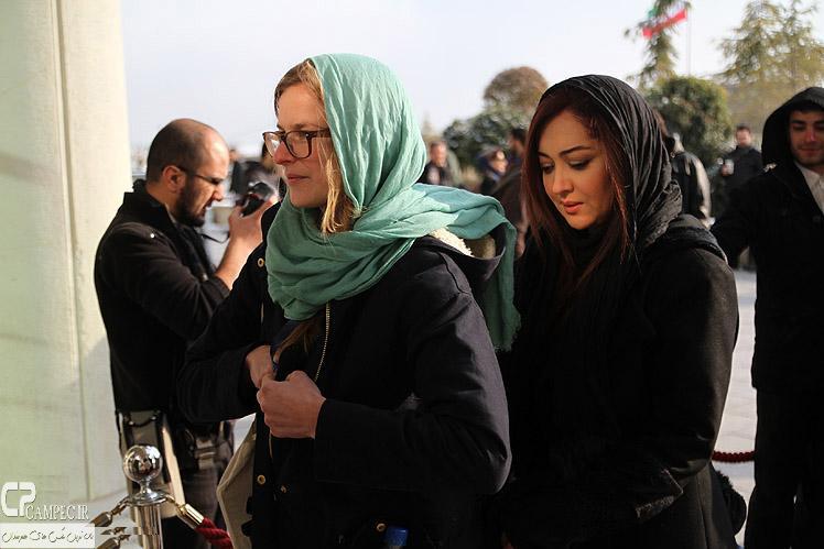 عکس نیکی کریمی در جشنواره