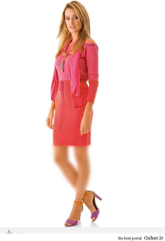 10237 مدل لباس های شاد و بهاری برند Caroline Biss