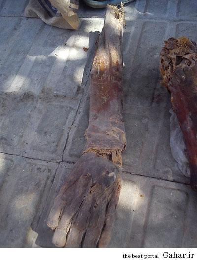 11418 کشف جسد مومیایی در بم