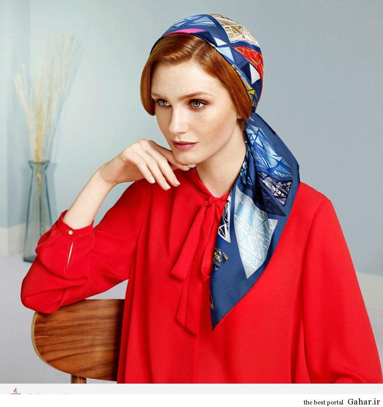 13221 مدل و طرح های روسری برند ترکیه ای AKER