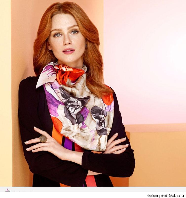 15183 مدل و طرح های روسری برند ترکیه ای AKER