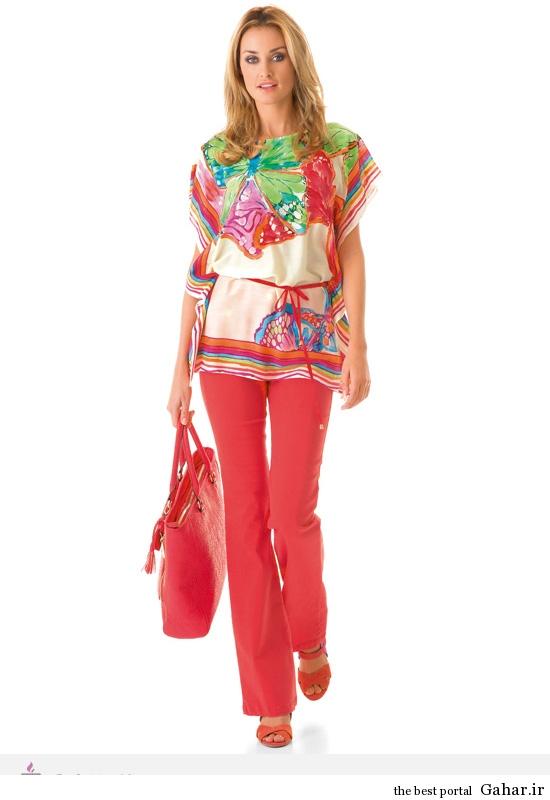 1988 مدل لباس های شاد و بهاری برند Caroline Biss
