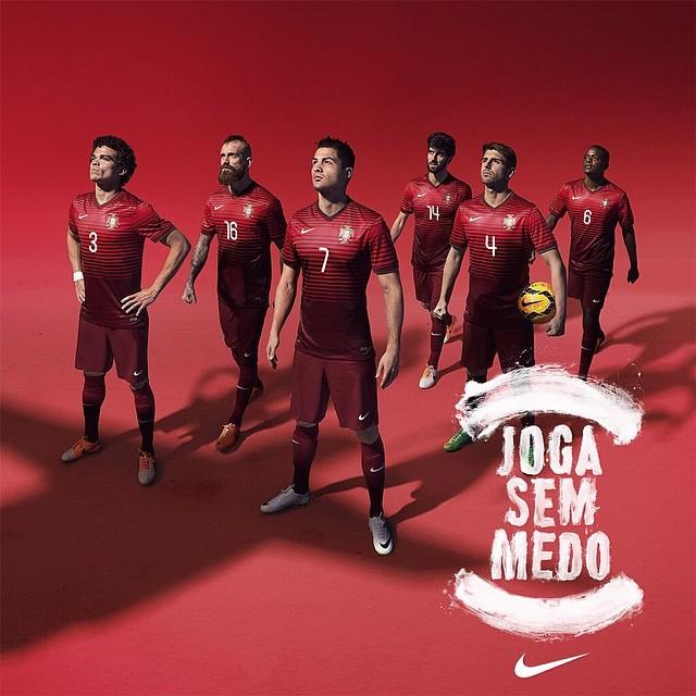 کریس رونالدو و لباس جدید تیم ملی پرتغال