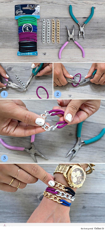 نحوه درست کردن دستبند فشن, جدید 99 -گهر
