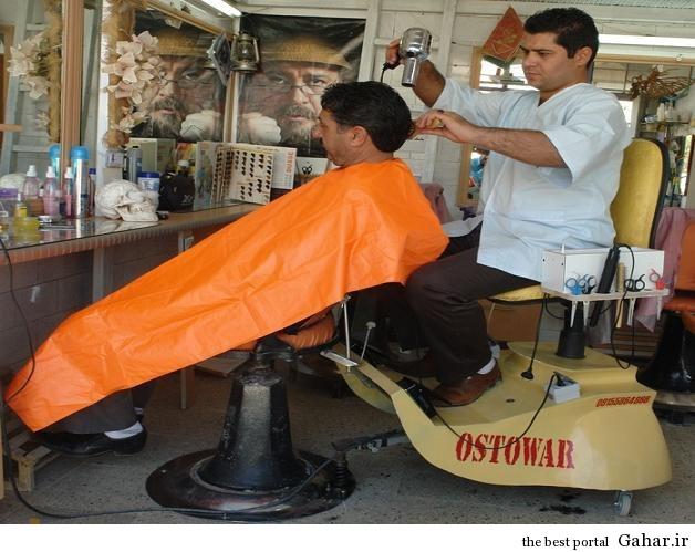 1 208849 206 ابداع جدید از آرایشگر ایرانی/عکس