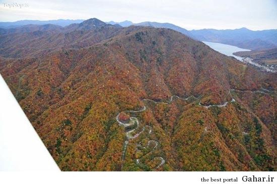 1 265417 133 جاده ای فوق العاده زیبا و رویایی / عکس