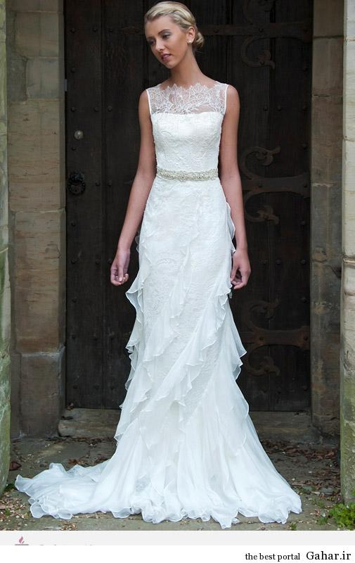 1 3399 مدل لباس های عروس طراحی شده از Augusta Jones