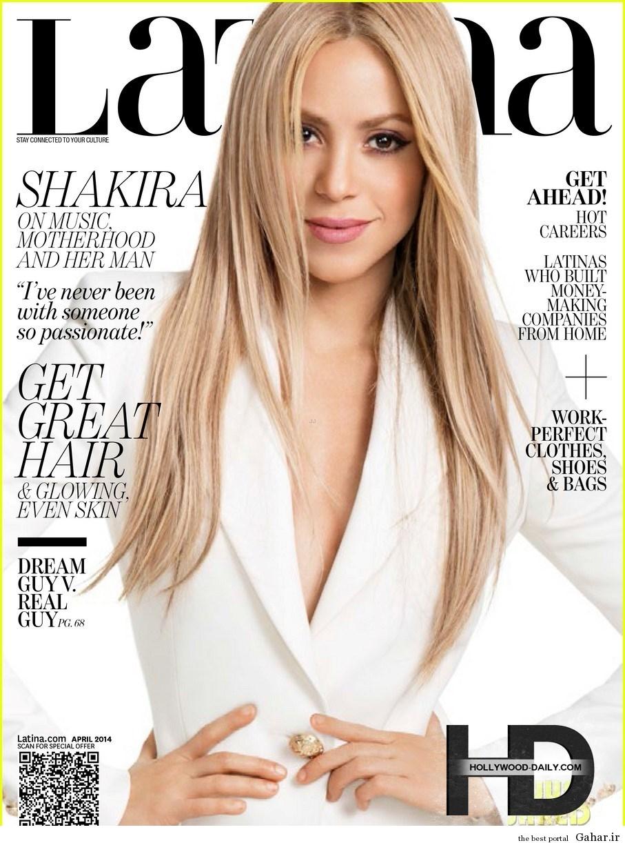 1 619shakiracoverslatinaa کاور و فتوشاتهای شکیرا در جدیدترین شماره مجله Latina