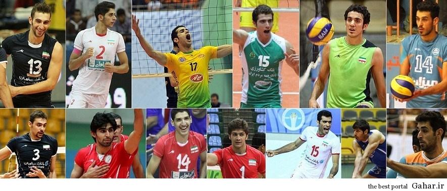 1 635318632475475715 ستاره های آینده تیم ملی والیبال ایران / عکس