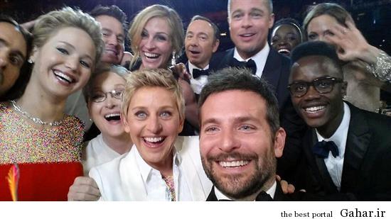 1 Oscars 2014 red carpet عکس اسکاری که رکورد توئیتر را شکست
