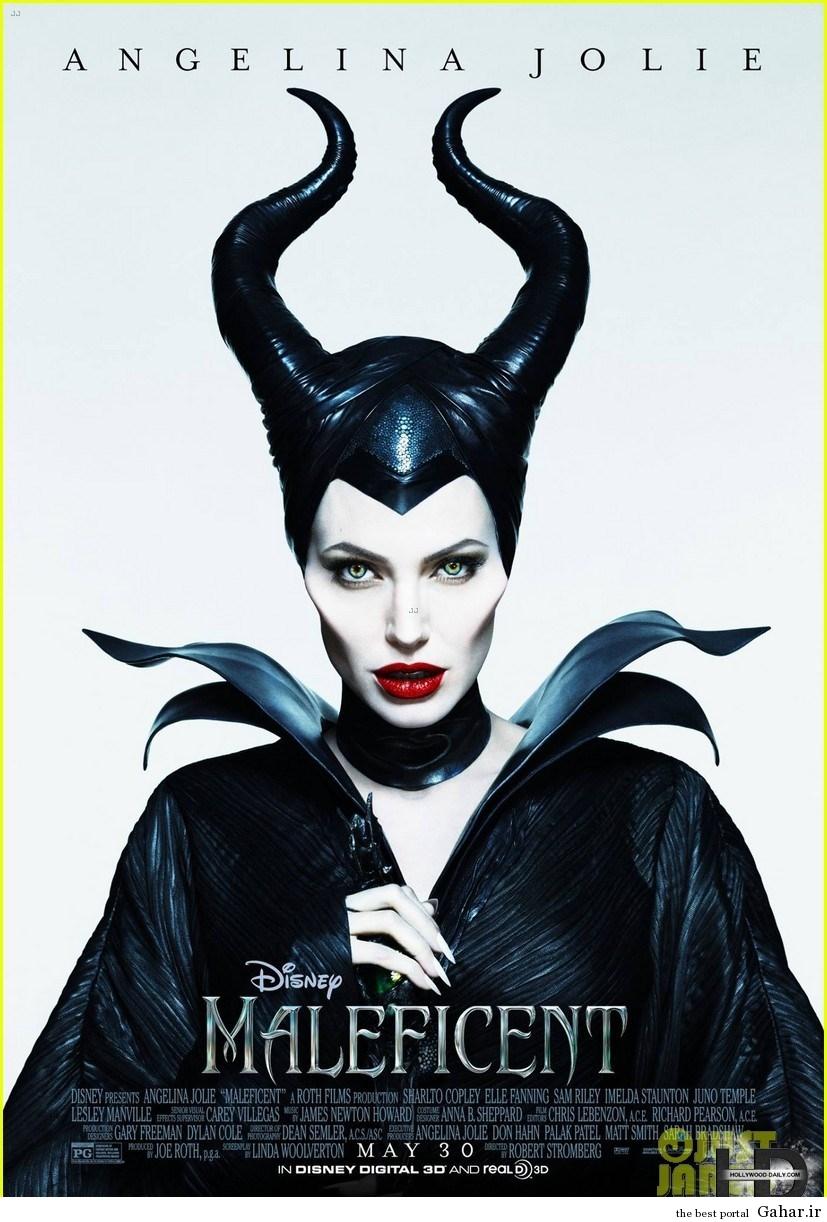 1 angelinajolienewmale کاور و پوسترهای رسمی Maleficent آنجلینا جولی