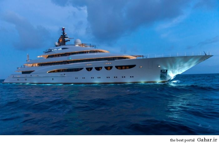 1 cruise ship 1 عکس هایی از یک قایق تفریحی لوکس و رویایی