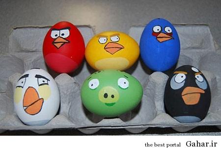 1 hou6550 تزیین تخم مرغ هفت سین 2 (عید 94)