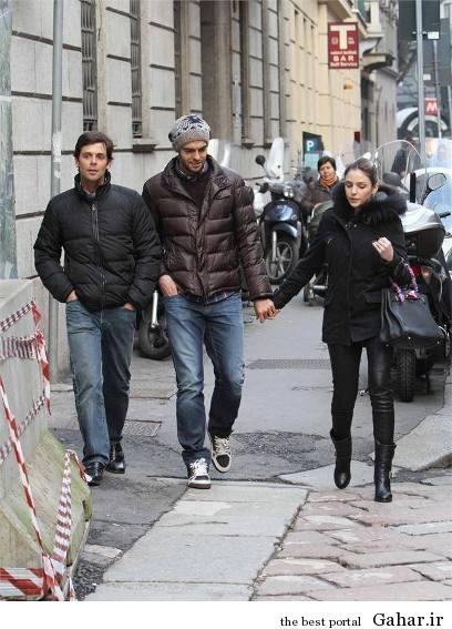 1 sdfsdf5897 كاكا و همسرش در خیابان های میلان