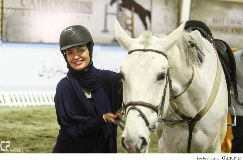 1 www Campec Ir Mahnaz Afshar 119 اسب سواری مهناز افشار / عکس