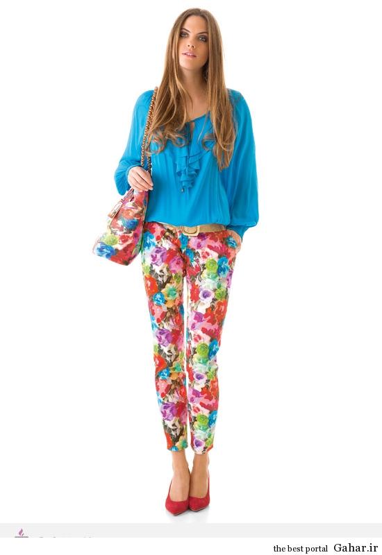 3454 مدل لباس های شاد و بهاری برند Caroline Biss