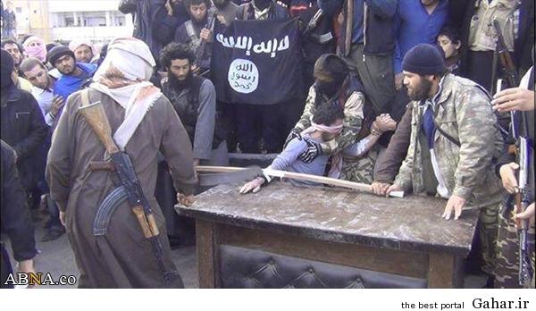 528580 داعش اینگونه دست قطع میکند/ عکس
