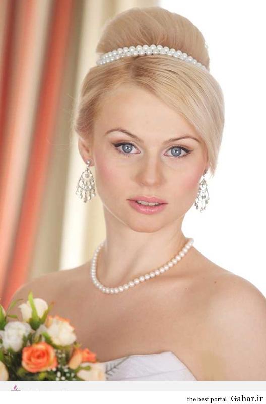 5287 مدل های زیبا برای موی عروس