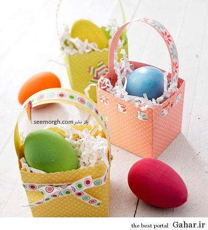 550 101339805 تزئین تخم مرغ در سبد برای نوروز امسال