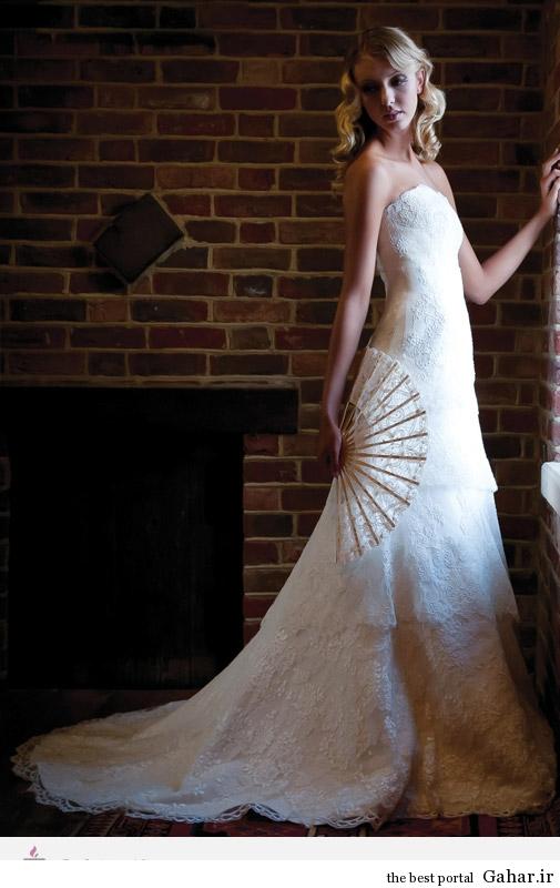 6253 مدل لباس های عروس طراحی شده از Augusta Jones