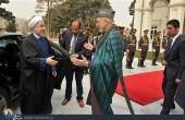 استقبال از روحانی به سبک افغانی