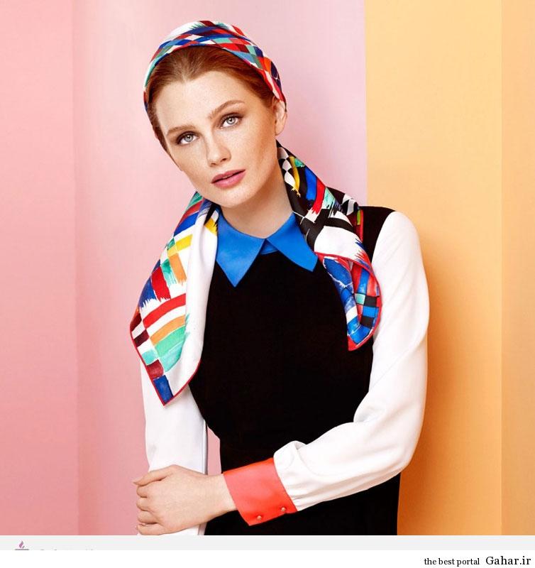 9234 مدل و طرح های روسری برند ترکیه ای AKER