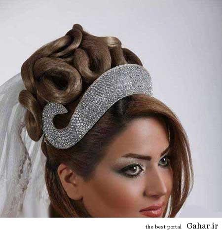 ar4 2711 مدل موی عروس 2014