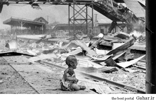 bnhgt5 تصاویری از کودکان جنگ