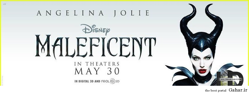 c2eangelinajolienewmale کاور و پوسترهای رسمی Maleficent آنجلینا جولی