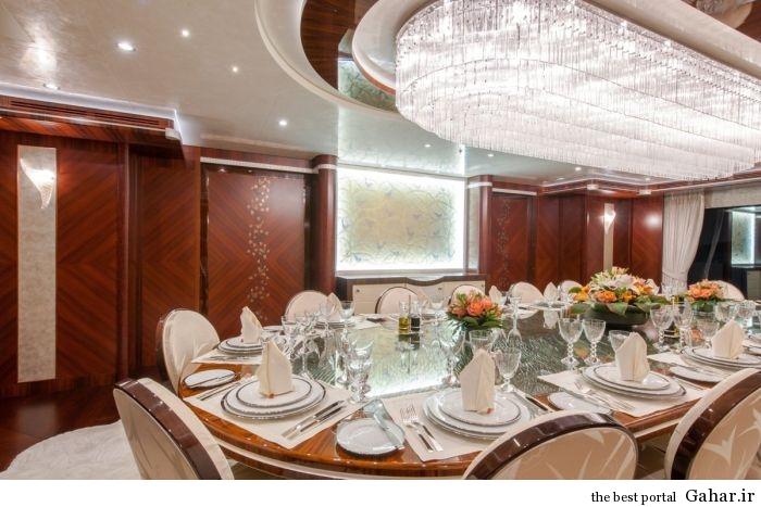 cruise ship 8 عکس هایی از یک قایق تفریحی لوکس و رویایی