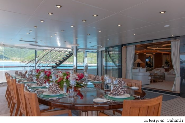 cruise ship 9 عکس هایی از یک قایق تفریحی لوکس و رویایی