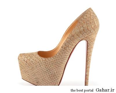 daffodile pump beige مدل کفش پاشنه بلند زنانه 93
