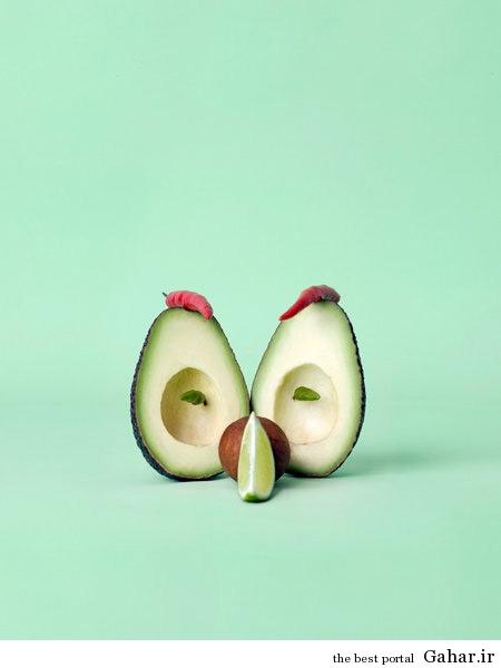 food art 12 هنرنمایی های جالب با خوراکی ها