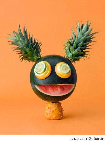 food art 4 هنرنمایی های جالب با خوراکی ها