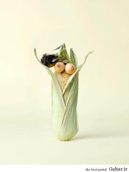 food art 7 هنرنمایی های جالب با خوراکی ها