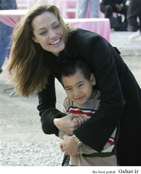 hhe1235 عکس های آنجلینا جولی و فرزندانش